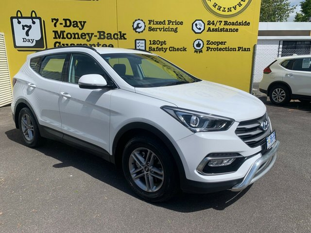 Used Hyundai Santa Fe DM3 MY17 Active, 2017 Hyundai Santa Fe DM3 MY17 Active White 6 Speed Manual Wagon