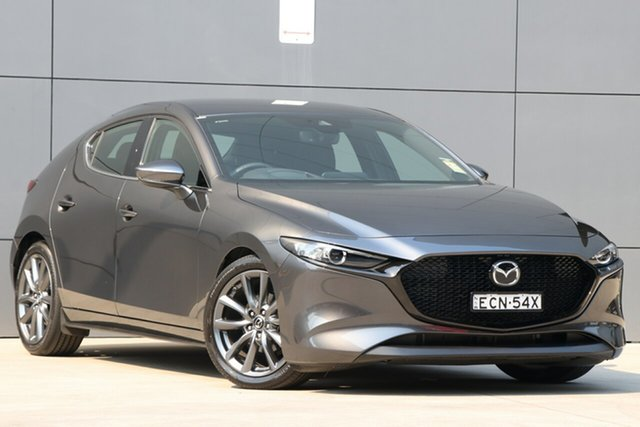 Used Mazda 3 BP2H7A G20 SKYACTIV-Drive Touring, 2019 Mazda 3 BP2H7A G20 SKYACTIV-Drive Touring Machine Grey 6 Speed Sports Automatic Hatchback