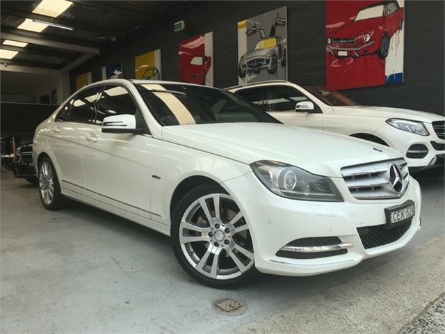 Used Mercedes-Benz C-Class W204 , 2011 Mercedes-Benz C-Class W204 C250 CDI BlueEFFICIENCY Avantgarde White Sports Automatic Sedan