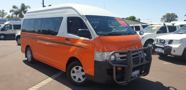 Used Toyota HiAce KDH223R MY08 Commuter High Roof Super LWB, 2008 Toyota HiAce KDH223R MY08 Commuter High Roof Super LWB 5 Speed Manual Bus
