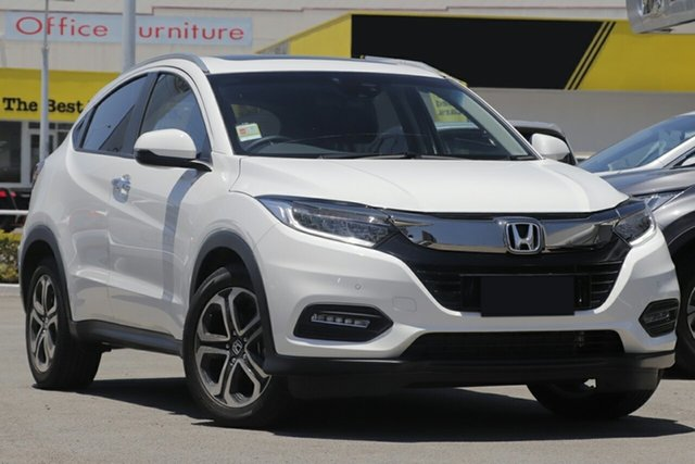 New Honda HR-V MY19 VTi-LX, 2019 Honda HR-V MY19 VTi-LX Taffeta White 1 Speed Constant Variable Hatchback
