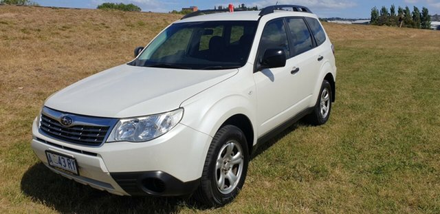 Used Subaru Forester S3 MY09 XS AWD Premium, 2009 Subaru Forester S3 MY09 XS AWD Premium White 4 Speed Sports Automatic Wagon