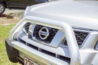 2012 Nissan X-Trail T31 Series IV TI Silver 1 Speed Constant Variable Wagon.