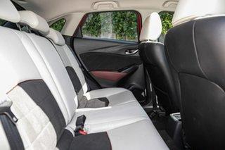 2017 Mazda CX-3 DK2W7A Akari SKYACTIV-Drive Red 6 Speed Sports Automatic Wagon