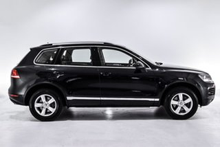 2012 Volkswagen Touareg 7P MY12.5 V6 TDI Tiptronic 4MOTION Black 8 Speed Sports Automatic Wagon