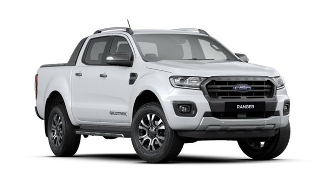New Ford Ranger PX MkIII 2019.75MY Wildtrak Pick-up Double Cab, 2019 Ford Ranger PX MkIII 2019.75MY Wildtrak Pick-up Double Cab Arctic White 6 Speed