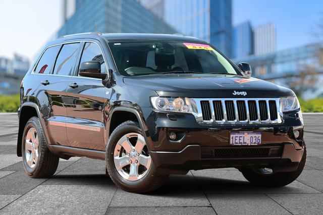 Used Jeep Grand Cherokee WK MY2013 Laredo, 2013 Jeep Grand Cherokee WK MY2013 Laredo Black 5 Speed Sports Automatic Wagon
