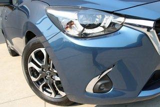 2019 Mazda 2 DJ2HA6 Genki SKYACTIV-MT Eternal Blue 6 Speed Manual Hatchback.