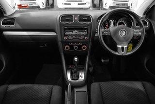 2012 Volkswagen Golf VI MY12.5 90TSI DSG Trendline White 7 Speed Sports Automatic Dual Clutch.