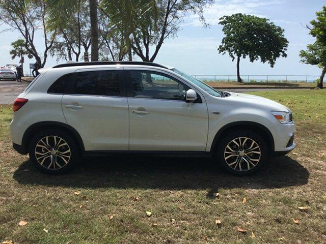 Used Mitsubishi ASX XC MY17 LS (2WD), 2017 Mitsubishi ASX XC MY17 LS (2WD) White Continuous Variable Wagon
