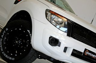 2014 Ford Ranger PX XL 2.2 Hi-Rider (4x2) White 6 Speed Manual Crew Cab Pickup.
