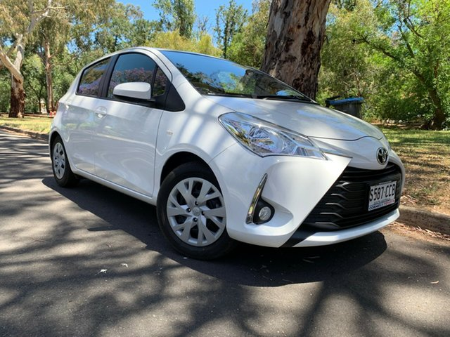Demo Toyota Yaris NCP131R SX, 2019 Toyota Yaris NCP131R SX White 4 Speed Automatic Hatchback