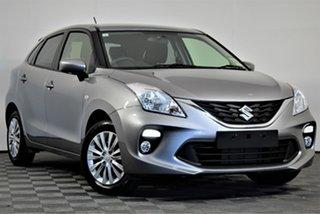 2019 Suzuki Baleno EW Series II GL Premium Silver 4 Speed Automatic Hatchback.