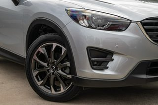2015 Mazda CX-5 KE1032 Grand Touring SKYACTIV-Drive AWD Silver 6 Speed Sports Automatic Wagon.