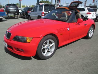 1997 BMW Z3 E36-7 Red 4 Speed Automatic Roadster.