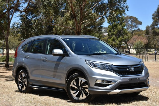 Used Honda CR-V RM Series II MY17 Limited Edition, 2016 Honda CR-V RM Series II MY17 Limited Edition Silver 5 Speed Automatic Wagon