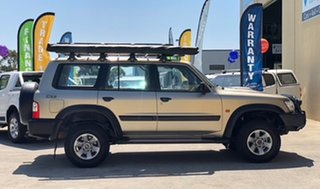 2004 Nissan Patrol GU III ST (4x4) Gold 5 Speed Manual Wagon