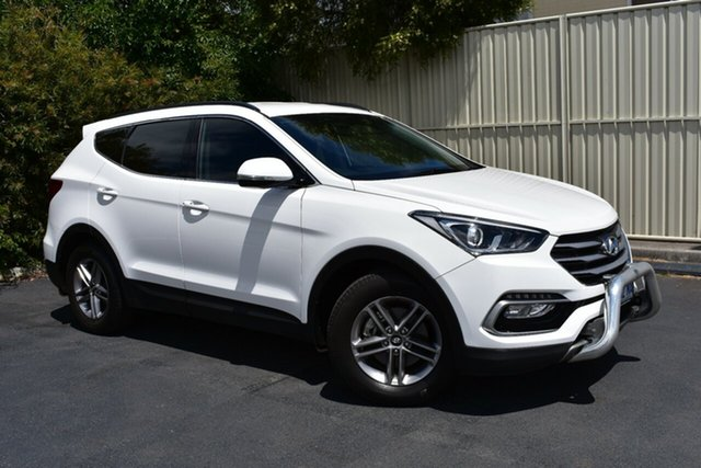 Used Hyundai Santa Fe DM3 MY16 Active, 2016 Hyundai Santa Fe DM3 MY16 Active Creamy White 6 Speed Sports Automatic Wagon