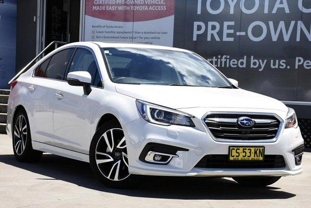 Used Subaru Liberty MY19 2.5I Premium, 2018 Subaru Liberty MY19 2.5I Premium Pearl White Continuous Variable Sedan