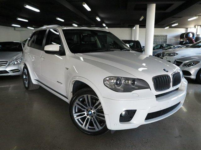 Used BMW X5 E70 MY1112 xDrive30d Steptronic, 2013 BMW X5 E70 MY1112 xDrive30d Steptronic White 8 Speed Sports Automatic Wagon
