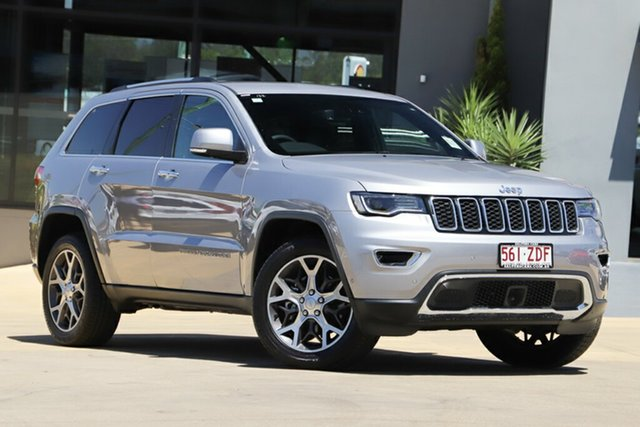 Used Jeep Grand Cherokee WK MY19 Limited, 2019 Jeep Grand Cherokee WK MY19 Limited Billet 8 Speed Sports Automatic Wagon
