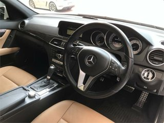 2011 Mercedes-Benz C-Class W204 C250 CDI BlueEFFICIENCY Avantgarde White Sports Automatic Sedan