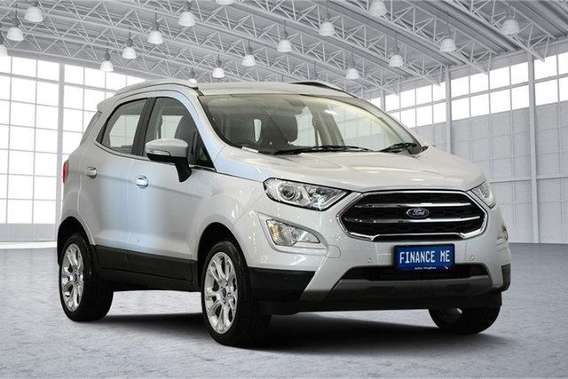 Used Ford Ecosport BL Titanium, 2018 Ford Ecosport BL Titanium Moondust Silver 6 Speed Automatic Wagon