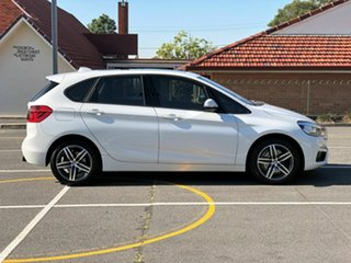 2014 BMW 2 Series F45 220i Active Tourer Steptronic Sport Line White 8 Speed Automatic Hatchback.