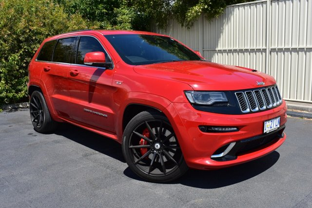 Used Jeep Grand Cherokee WK MY16 SRT, 2016 Jeep Grand Cherokee WK MY16 SRT Maroon 8 Speed Sports Automatic Wagon