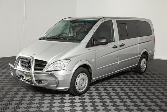 Used Mercedes-Benz Vito 639 MY14 113CDI, 2014 Mercedes-Benz Vito 639 MY14 113CDI Silver 5 speed Automatic Wagon