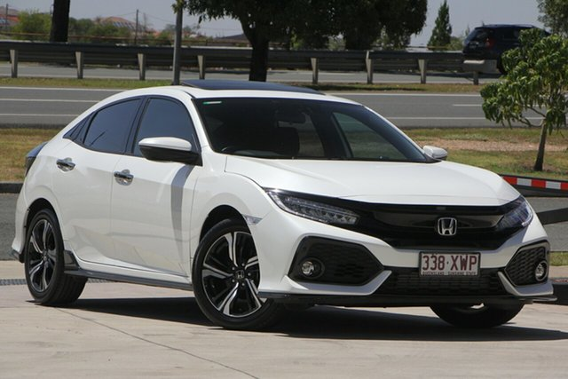 Used Honda Civic 10th Gen MY17 RS, 2017 Honda Civic 10th Gen MY17 RS White 1 Speed Constant Variable Hatchback