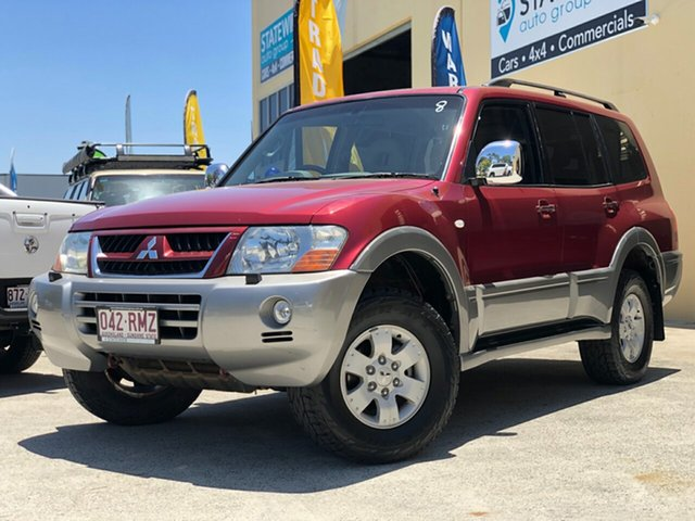 Used Mitsubishi Pajero NP MY04 Exceed, 2004 Mitsubishi Pajero NP MY04 Exceed Maroon 5 Speed Sports Automatic Wagon