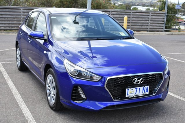 Demo Hyundai i30 PD.3 MY20 Go, 2019 Hyundai i30 PD.3 MY20 Go Intense Blue 6 Speed Sports Automatic Hatchback