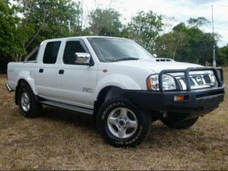 2012 Nissan Navara D22 Series 5 ST-R Special Edition (4x4) White 5 Speed Manual Dual Cab Pick-up.