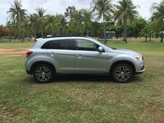 2017 Mitsubishi ASX XC MY17 LS (2WD) Silver Continuous Variable Wagon.