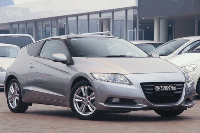 Used Honda CR-Z  Luxury Hybrid, 2011 Honda CR-Z Luxury Hybrid Silver Continuous Variable Coupe