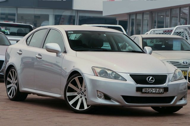 Used Lexus IS GSE20R IS250 Prestige, 2007 Lexus IS GSE20R IS250 Prestige Silver 6 Speed Sports Automatic Sedan