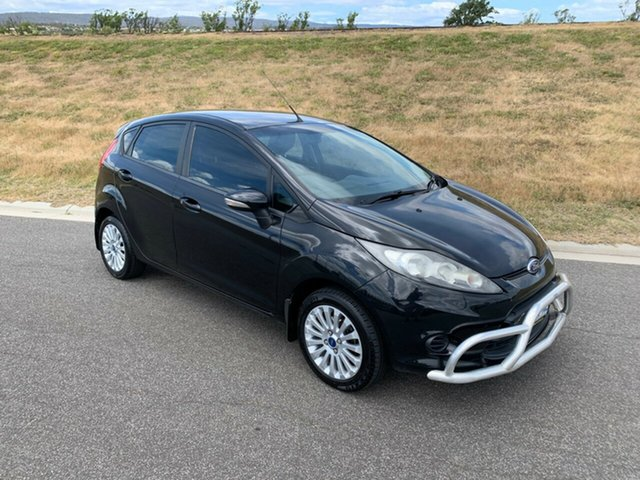Used Ford Fiesta WT LX PwrShift, 2011 Ford Fiesta WT LX PwrShift Black 6 Speed Sports Automatic Dual Clutch Hatchback
