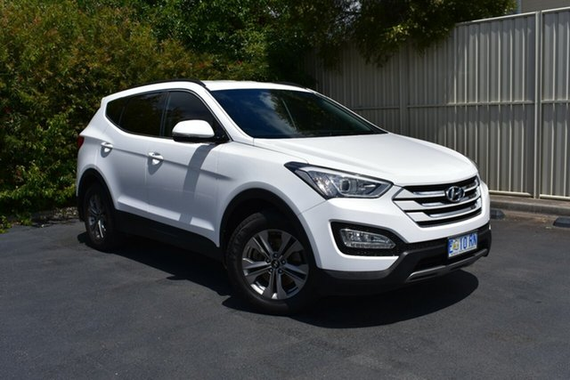 Used Hyundai Santa Fe DM2 MY15 Active, 2015 Hyundai Santa Fe DM2 MY15 Active Creamy White 6 Speed Sports Automatic Wagon
