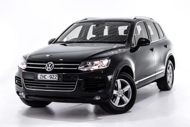 Used Volkswagen Touareg 7P MY12.5 V6 TDI Tiptronic 4MOTION, 2012 Volkswagen Touareg 7P MY12.5 V6 TDI Tiptronic 4MOTION Black 8 Speed Sports Automatic Wagon