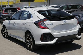2019 Honda Civic 10th Gen MY19 +Luxe Platinum White 1 Speed Constant Variable Hatchback.
