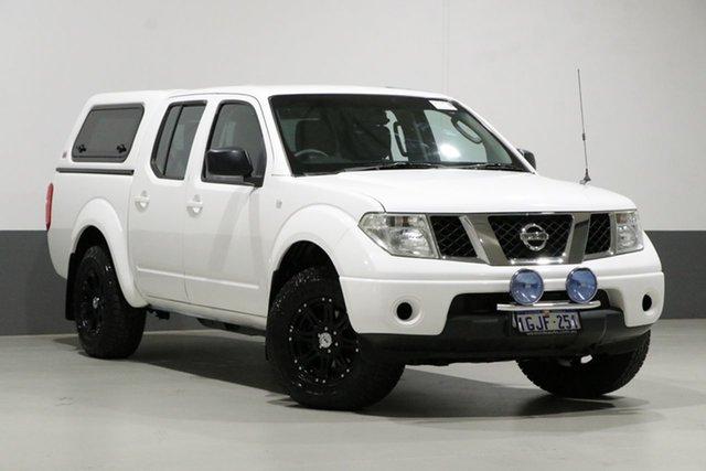 Used Nissan Navara D40 RX (4x4), 2009 Nissan Navara D40 RX (4x4) White 6 Speed Manual Dual Cab Pick-up