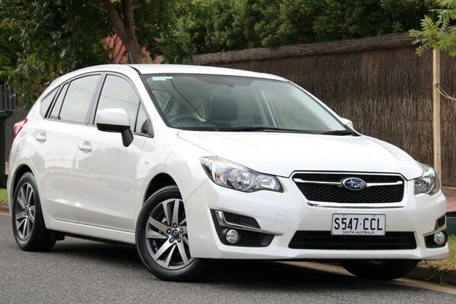 Used Subaru Impreza G4 MY16 2.0i Lineartronic AWD Premium, 2016 Subaru Impreza G4 MY16 2.0i Lineartronic AWD Premium White 6 Speed Constant Variable Hatchback