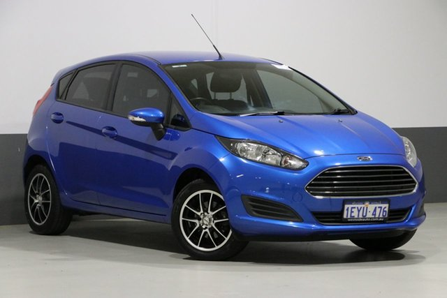 Used Ford Fiesta WZ Ambiente, 2016 Ford Fiesta WZ Ambiente Blue 6 Speed Automatic Hatchback