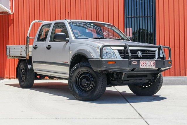 Used Holden Rodeo RA LX Crew Cab, 2004 Holden Rodeo RA LX Crew Cab Silver 5 Speed Manual Cab Chassis