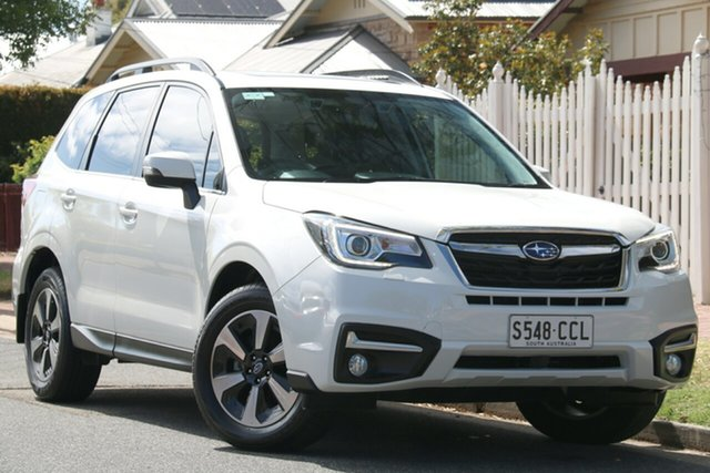 Used Subaru Forester S4 MY16 2.5i-L CVT AWD Special Edition, 2016 Subaru Forester S4 MY16 2.5i-L CVT AWD Special Edition White 6 Speed Constant Variable Wagon