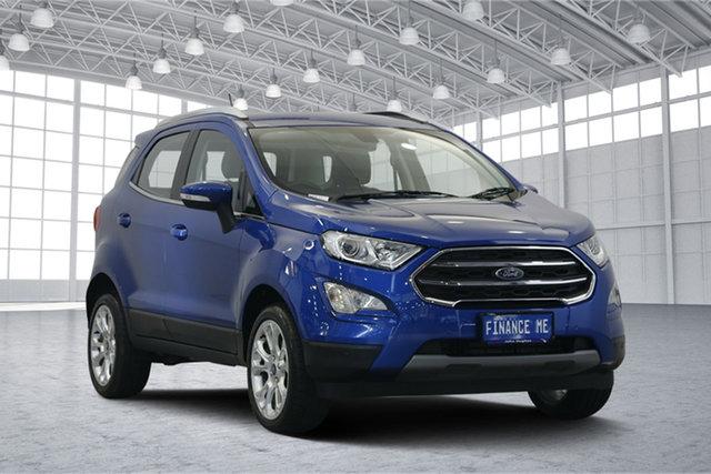 Used Ford Ecosport BL Titanium, 2018 Ford Ecosport BL Titanium Blue Lightning 6 Speed Automatic Wagon