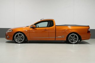 2010 Ford Falcon FG Upgrade XR6T 50th Anniversary Orange 6 Speed Auto Seq Sportshift Utility