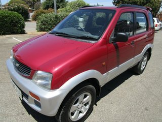 1998 Daihatsu Terios SX (4x4) 4 Speed Automatic 4x4 Wagon