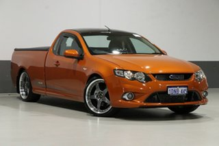 2010 Ford Falcon FG Upgrade XR6T 50th Anniversary Orange 6 Speed Auto Seq Sportshift Utility.